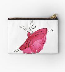ballerina figure, watercolor Studio Pouch