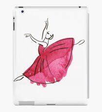 ballerina figure, watercolor iPad Case/Skin