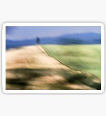 Out of focus and blurred landscape  Sticker