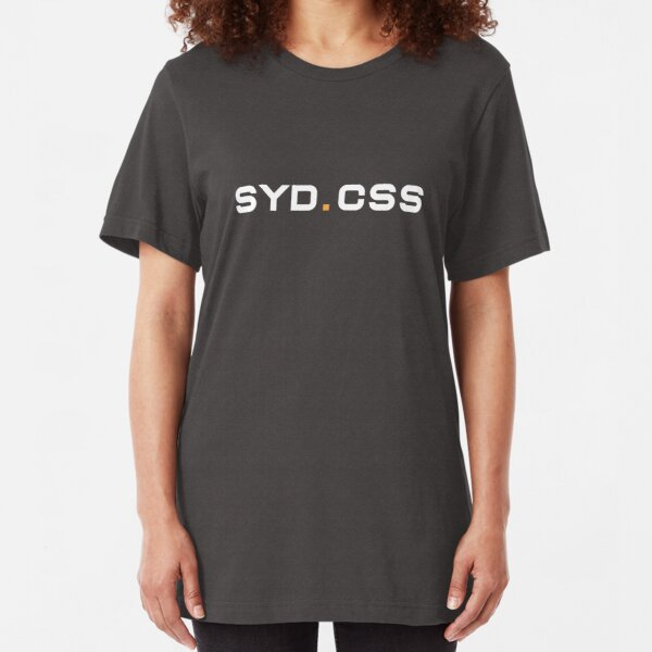 SydCSS Logo Slim Fit T-Shirt