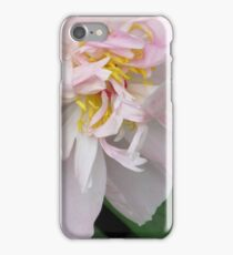 Pink Peony Flower Photo iPhone Case/Skin