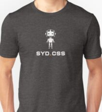 SydCSS logo & Max the robot T-Shirt
