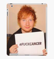 FUCK CANCER ED  iPad Case/Skin