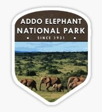 Addo Elephant National Park Sticker