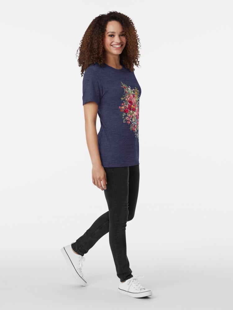 Alternative Ansicht von & quot; Bouquety & quot; Vintage T-Shirt
