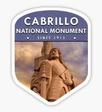 Cabrillo National Monument Sticker