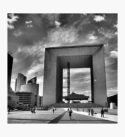 La Grande Arche de la Defense Photographic Print