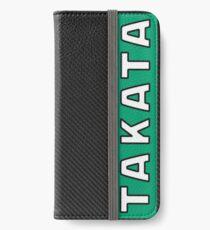 Takata Carbon iPhone Wallet/Case/Skin