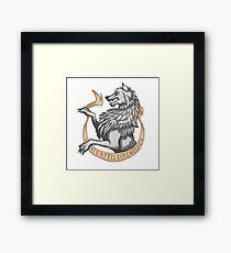 Winterfell Direwolves  Framed Print