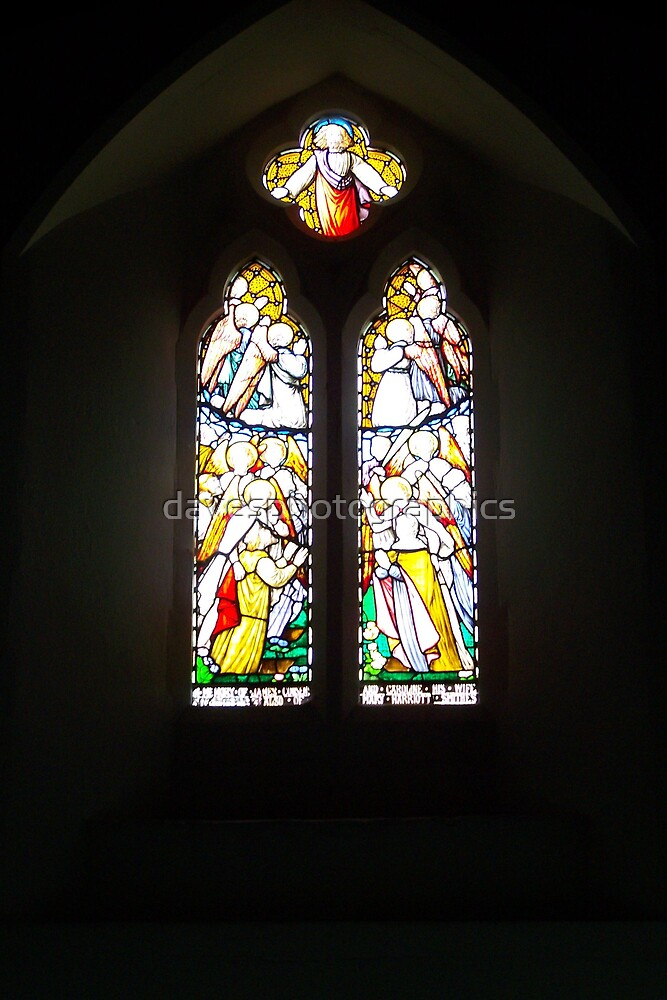 All Saints Church Footscray  Side Window by davesphotographics