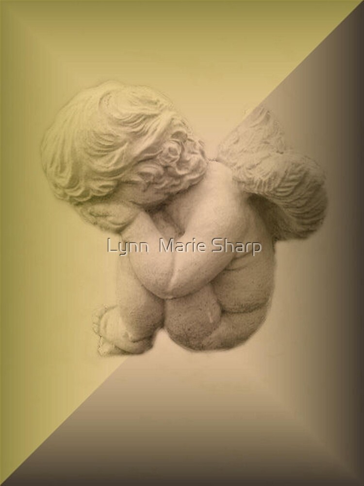 Weeping Cherub ~ Angel by Marie Sharp