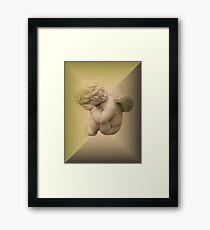 Weeping Cherub ~ Angel Framed Print