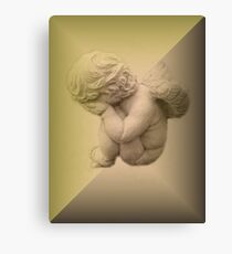 Weeping Cherub ~ Angel Canvas Print