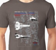 Owners Manual - Colonial Viper MKII Unisex T-Shirt