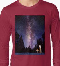 galaxy calvin and hobbes T-Shirt