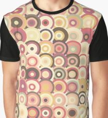 Concentric Vintage Circle Graphic T-Shirt