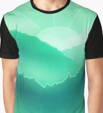 Foggy Morning Graphic T-Shirt
