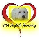 Old English Sheepdog by Ian McKenzie
