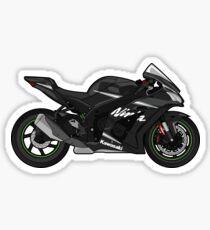 Kawasaki ZX10R Winter Edition Ninja Sticker