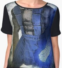 Glowing hand ice warrior Women's Chiffon Top