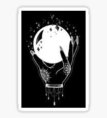 Crystal Ball - White Print Sticker
