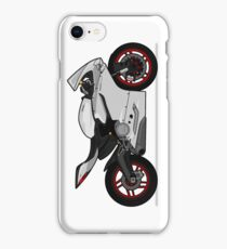 Ducati 899 Panigale White iPhone Case/Skin