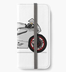 Ducati 899 Panigale White iPhone Wallet/Case/Skin