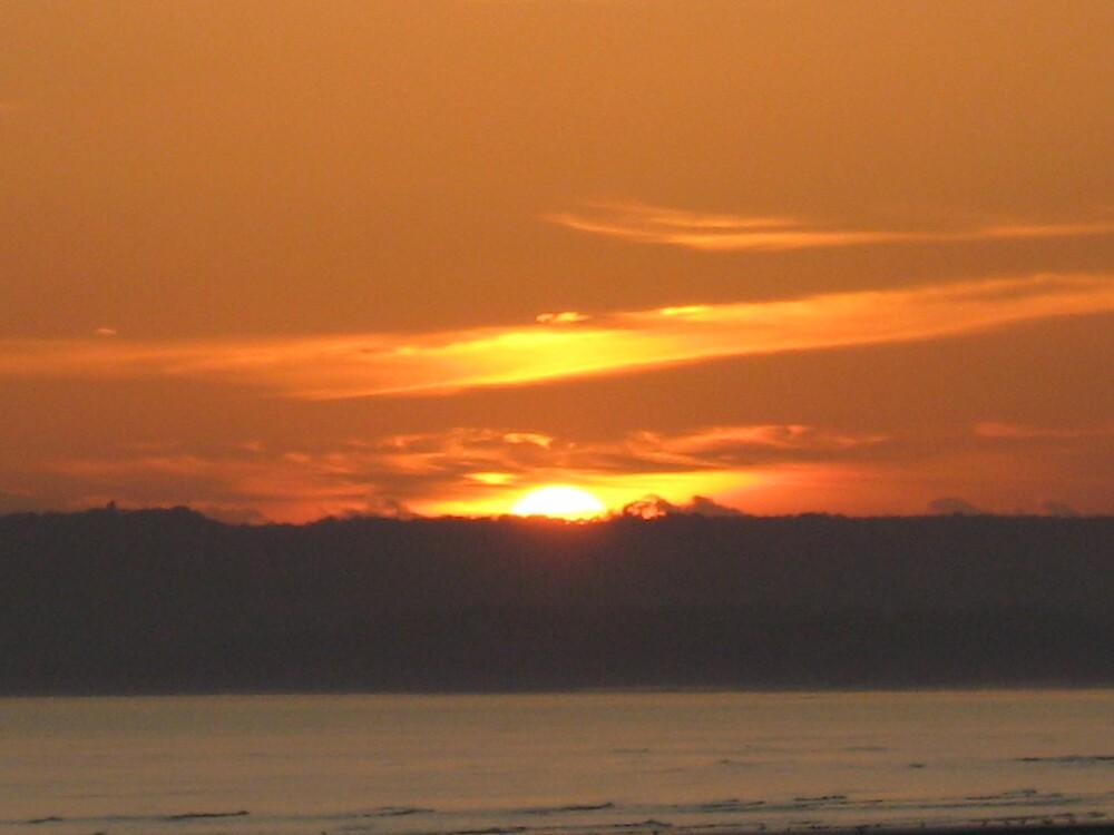 SUN GOING DOWN by Deirdre Banda