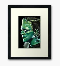 Frankensteins Monster Framed Print