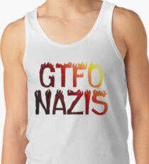 GTFO Nazis Tank Top