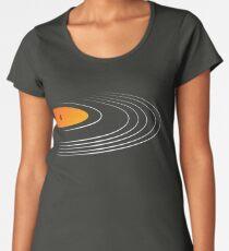 Music Retro Vinyl Record  Women's Premium T-Shirt