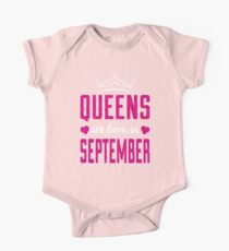 Queens are born in September shirt Kids Clothes