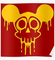 Dismaland Mickey Rat Poster