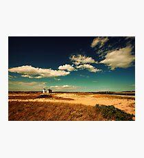 Stage Harbor Light House Cape Cod Photographic Print