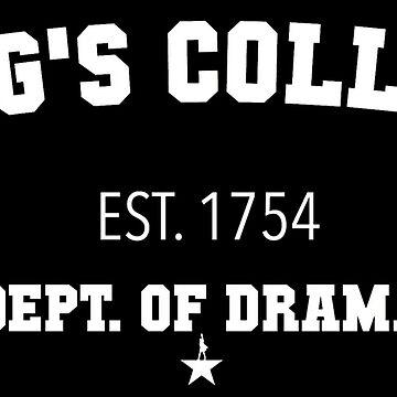 hamilton kings college design  by jayymarie