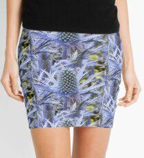Blue Thistle Mini Skirt