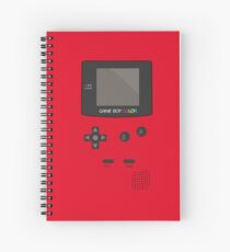 Retro Video Game Boy Console   Spiral Notebook