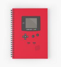 Retro Video Game Boy Console   Spiral Notebook