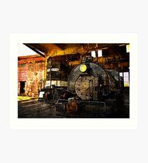From Steam To Diesel Art Print
