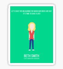 Beth Smith Sticker