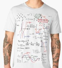 Mathematics Formulas Numbers  Men's Premium T-Shirt