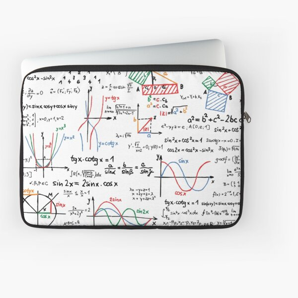 Mathematics Formulas Numbers  Laptop Sleeve