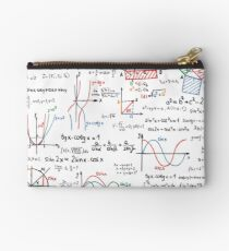Mathematics Formulas Numbers  Studio Pouch