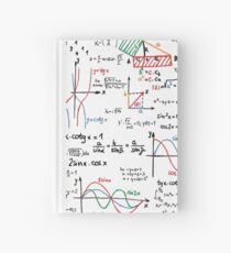 Mathematics Formulas Numbers  Hardcover Journal