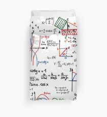 Mathematics Formulas Numbers  Duvet Cover