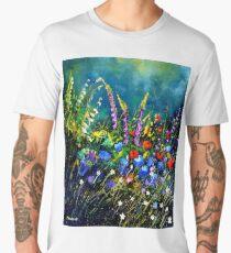 Garden flowers Men's Premium T-Shirt