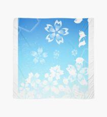 Blue Cherry Blossom Scarf