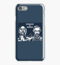 mcgregor vs mayweather Merchandise iPhone Case/Skin