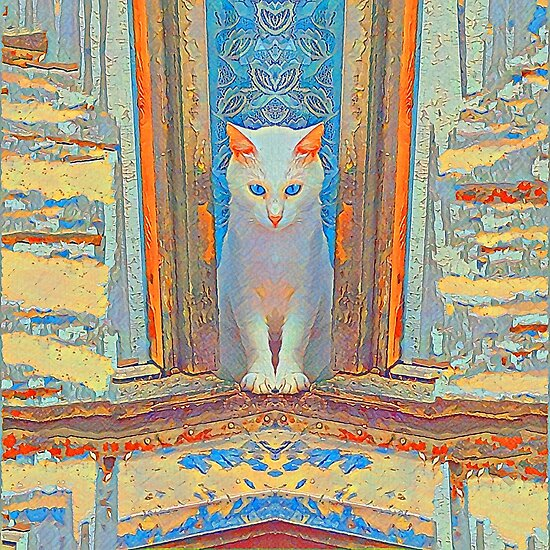 Symmetrical cat by blackhalt