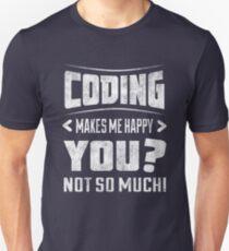 Funny coding shirt  T-Shirt